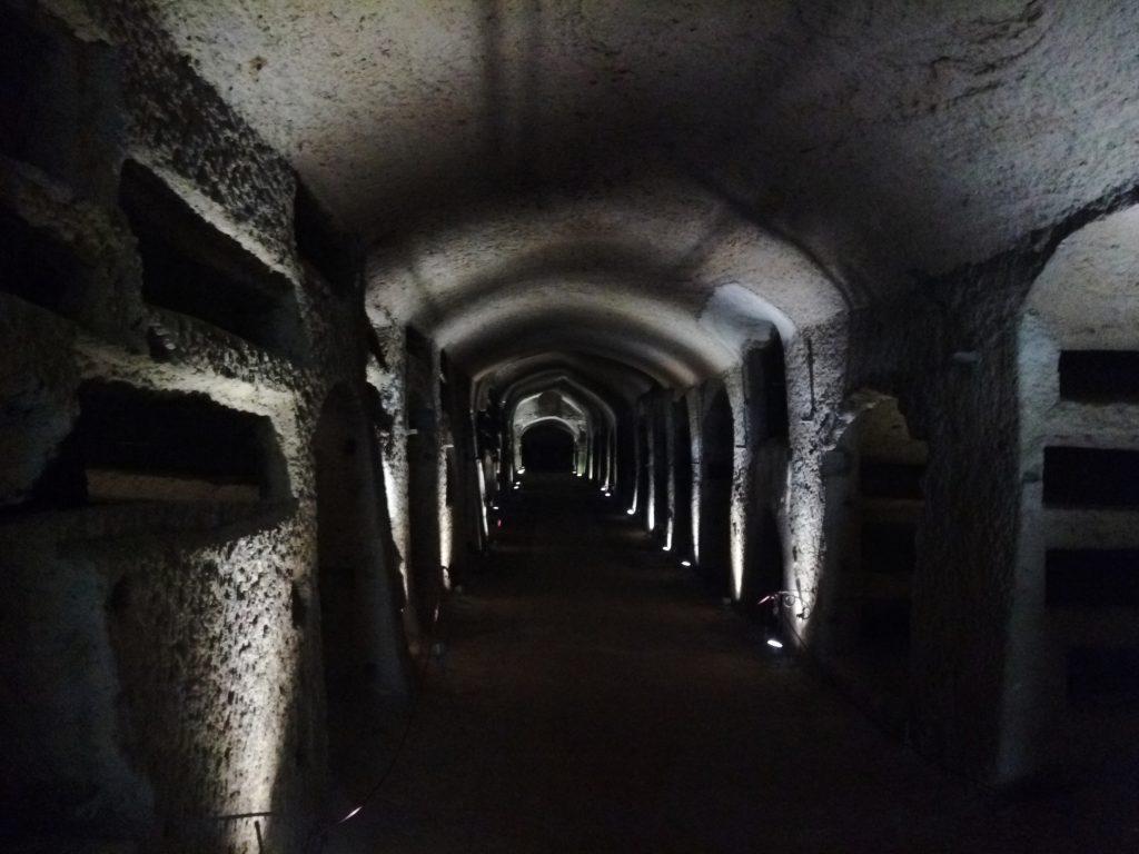 Napoles Catacumbas di San Gennaro