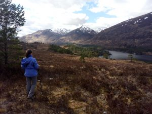 Escocia Loch Affric