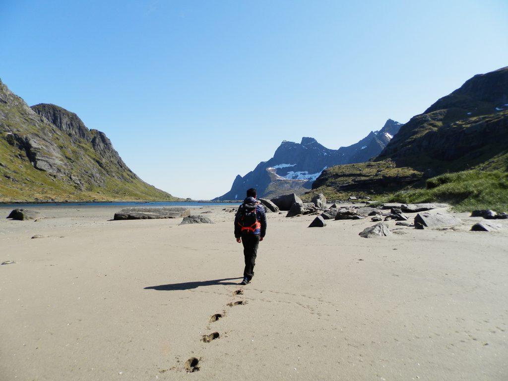 Noruega Islas Lofoten Ruta Bunes Beach