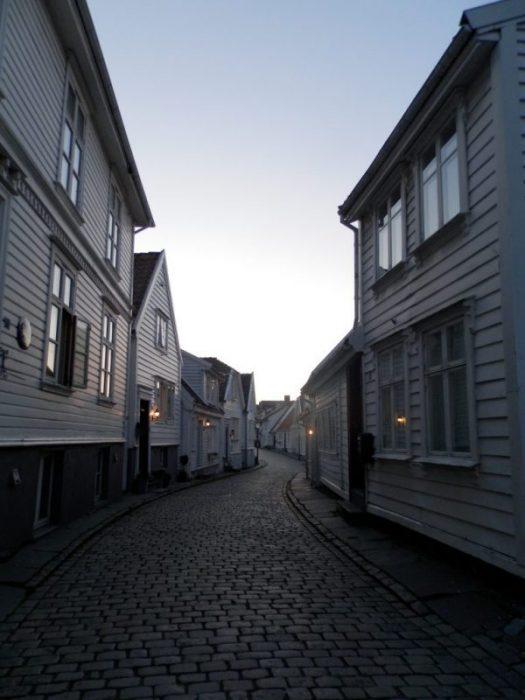 Noruega Fiordos Casco Antiguo de Stavanger