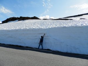 Noruega Fiordos Carretera de las Nieves