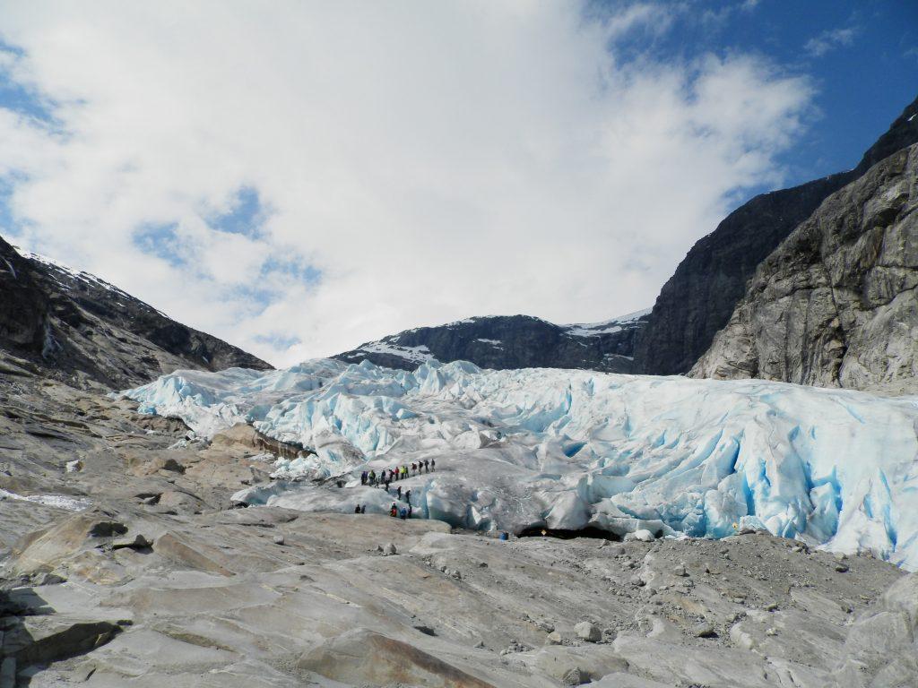 Noruega Glaciar Nigardsbreen