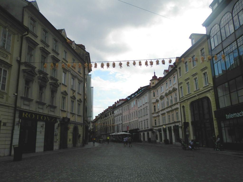 Paseando por las pintorescas calles de Ljubljana, Eslovenia