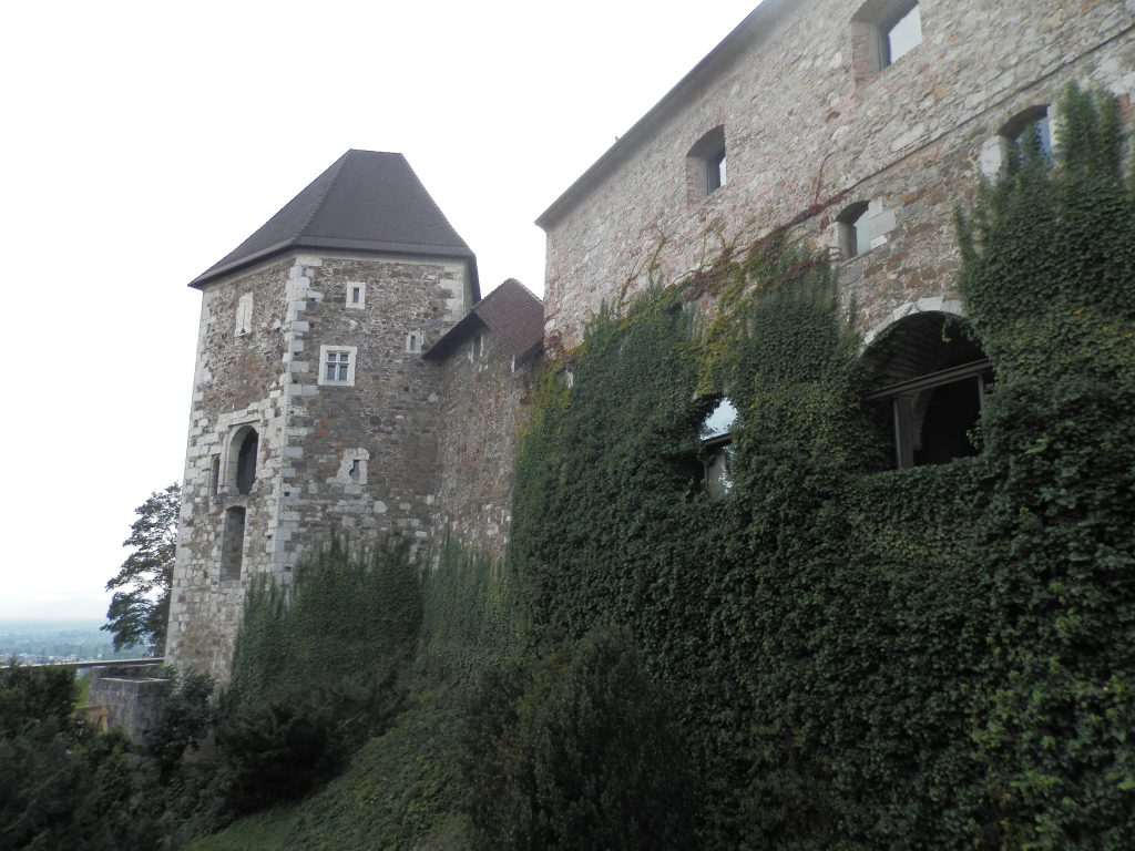 Castillo de Ljubljana, Eslovenia