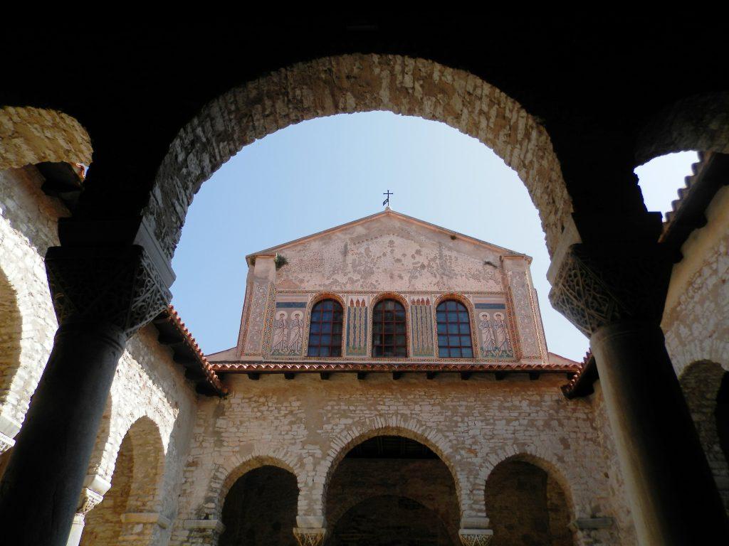 Basílica Eufrasiana en Poreč. Península de Istria, Croacia.
