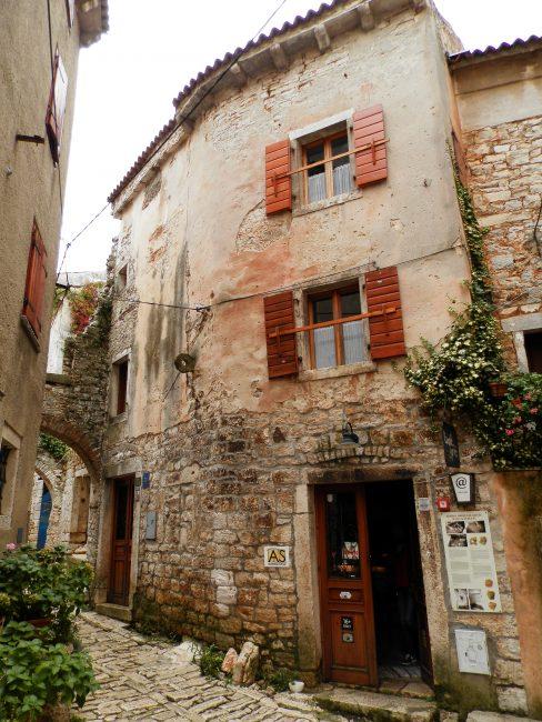 Bale, Península de Istria, Croacia.