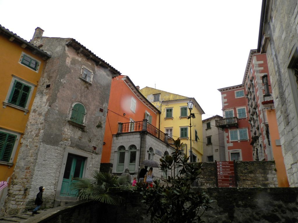 Labin, Península de Istria, Croacia.