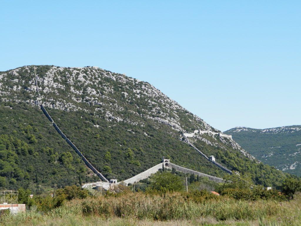 Muralla de Ston, Croacia