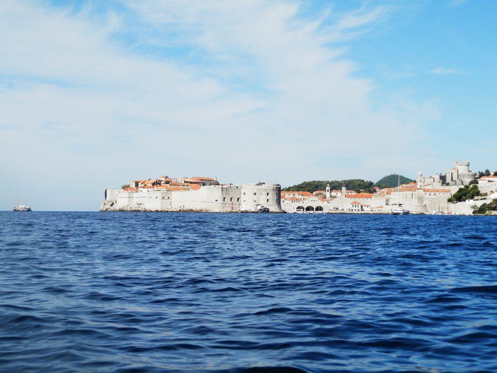 Vistas de Dubrovnik desde el Kayak, Croacia