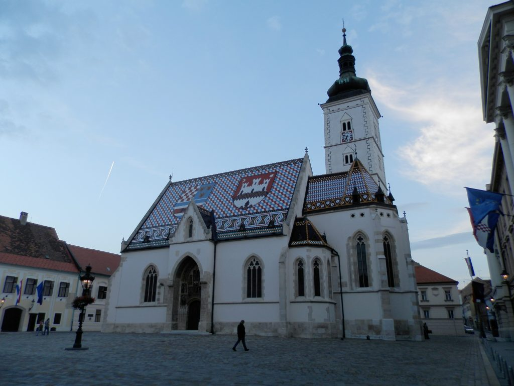 Iglesia de San Marcos, Zagreb, Croacia
