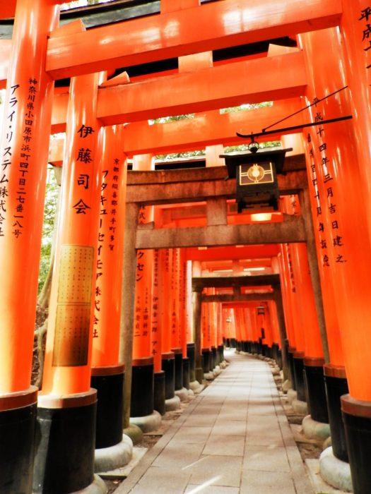 Japón, Santuario Fushimi Inari en Kyoto