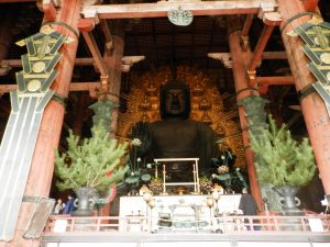 Japón Templo Todai-ji en Nara