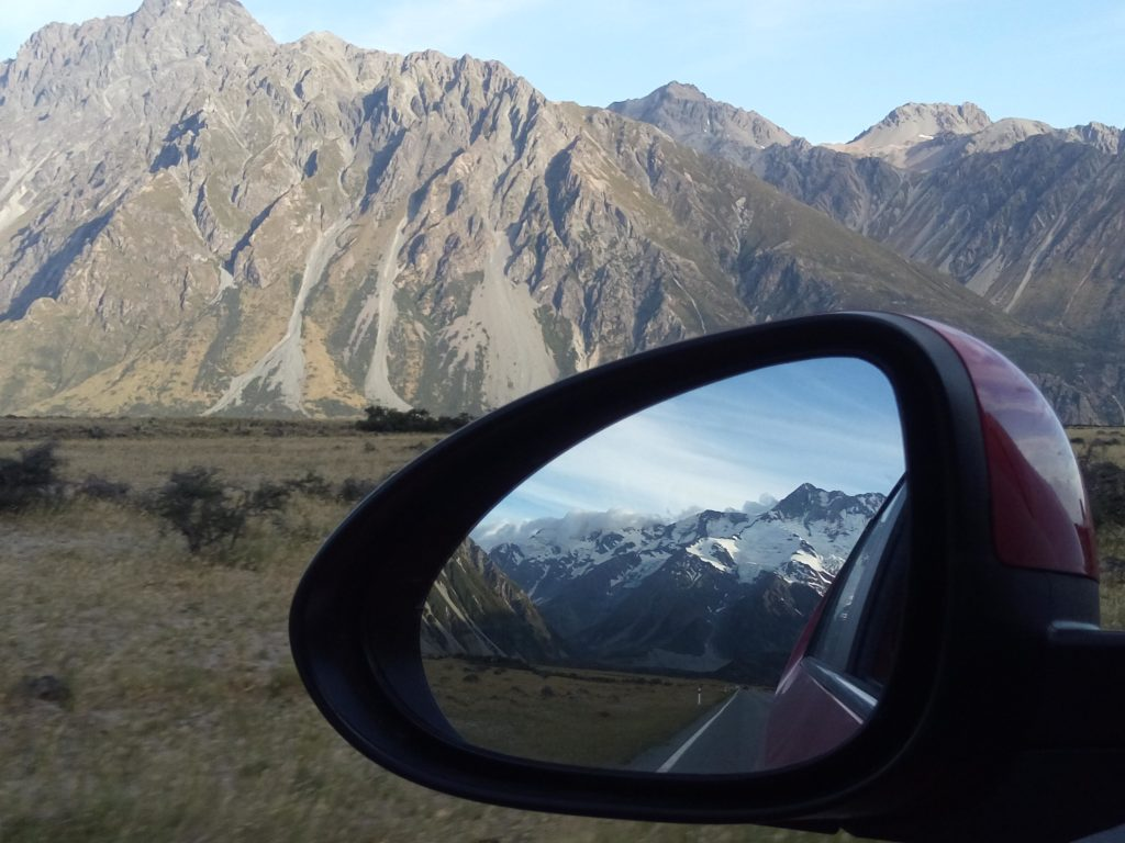 Nueva Zelanda Road Mt Cook