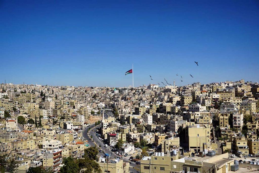 Ammán, la capital jordana