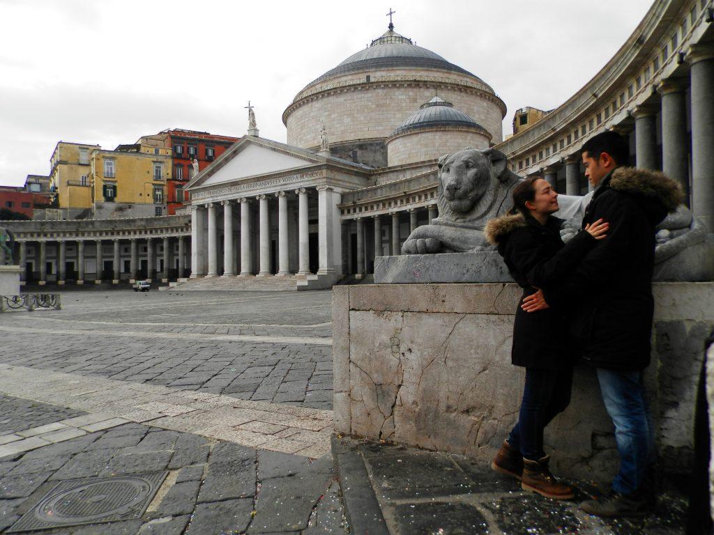 Nápoles Piazza del Plebiscito