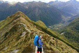Kepler Track, el impresionante sendero por los fiordos neozelandeses