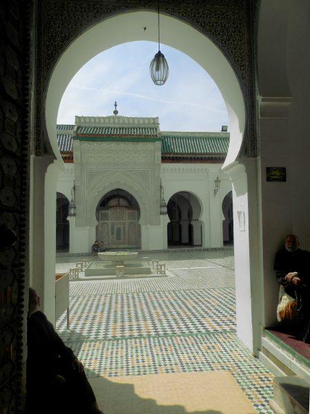 Marruecos Mezquita Al Karaouine Fez