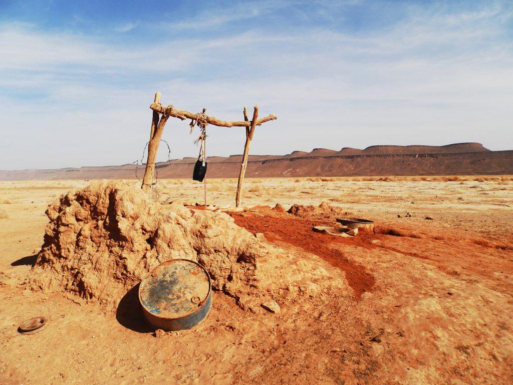 Marruecos Pozo en el desierto