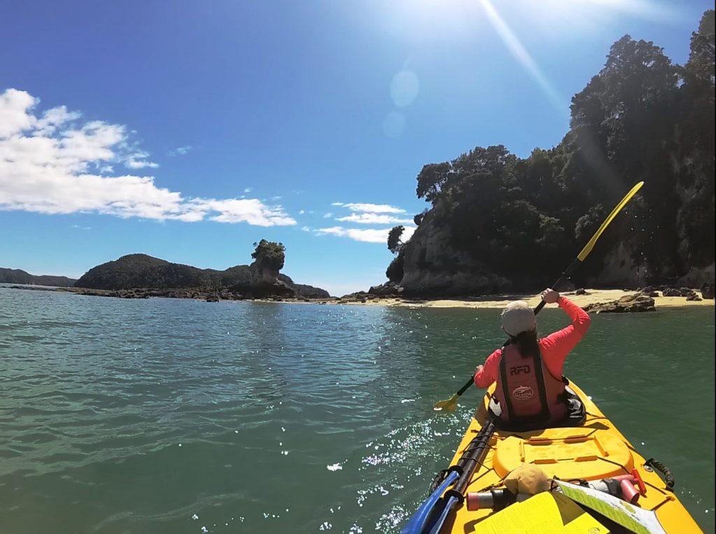 Kayak en Abel Tasman Coast Track