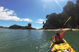 Abel Tasman Coast Track, el sendero paradisíaco de Nueva Zelanda