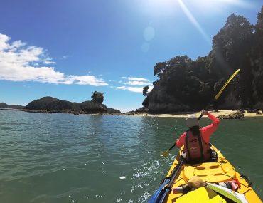 Kayak en Abel Tasman