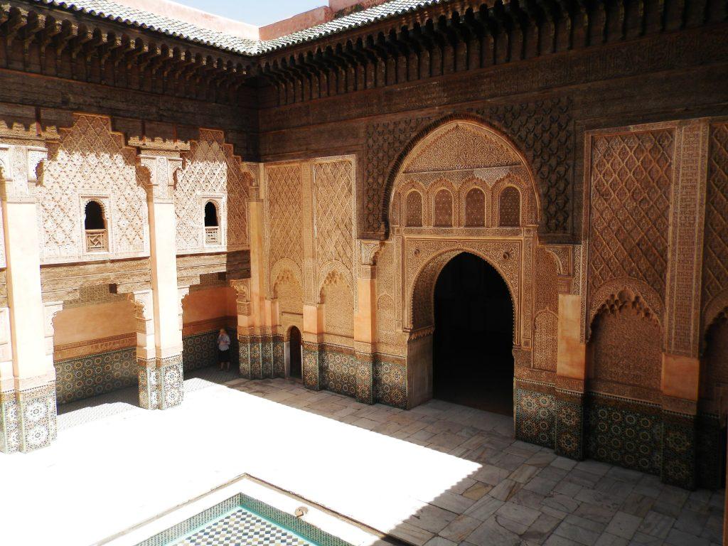 Marruecos Madraza Ben Youssef en Marrakech