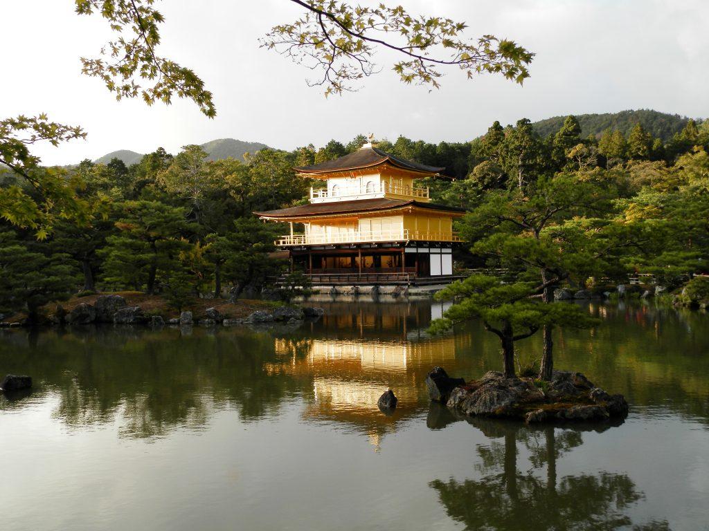 Japón, Templo Kinkaku-ji en Kyoto