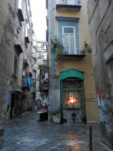 Altar en Nápoles