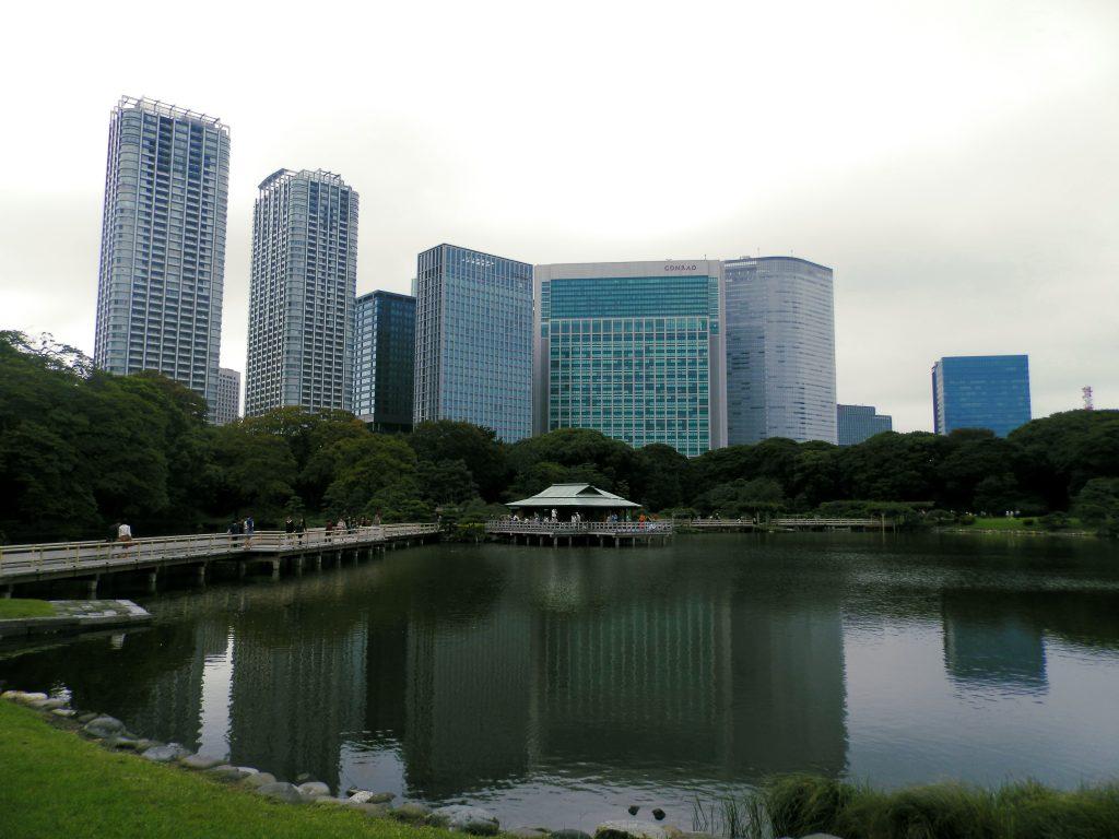 Japón, Jardín Hamarikyu en Tokyo