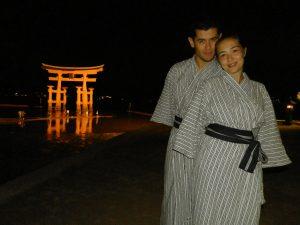 Japón Paseo nocturno por Miyajima