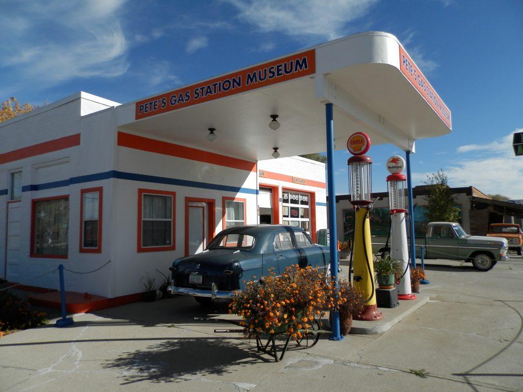 EEUU Oeste Gasolinera Ruta 66