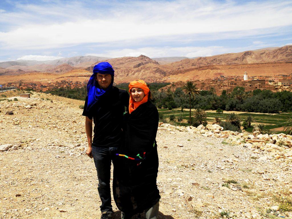 Marruecos Dos bereberes