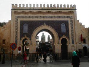 Marruecos Bab Boujloud o la Puerta Azul