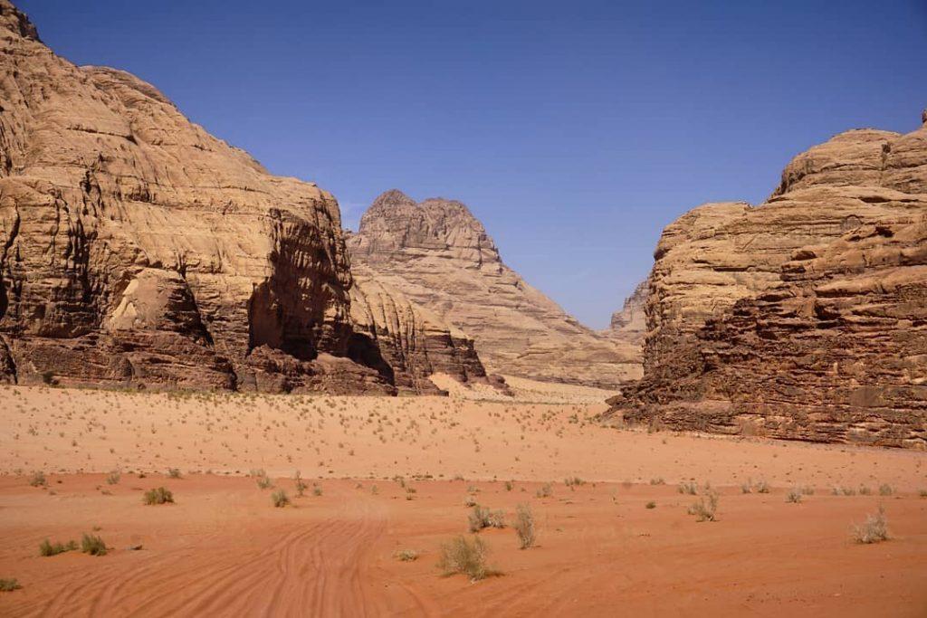 Cañon Barrah, desierto de Wadi Rum