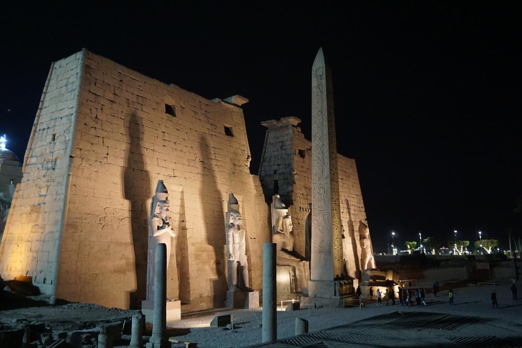 Templo de Lúxor, Egipto