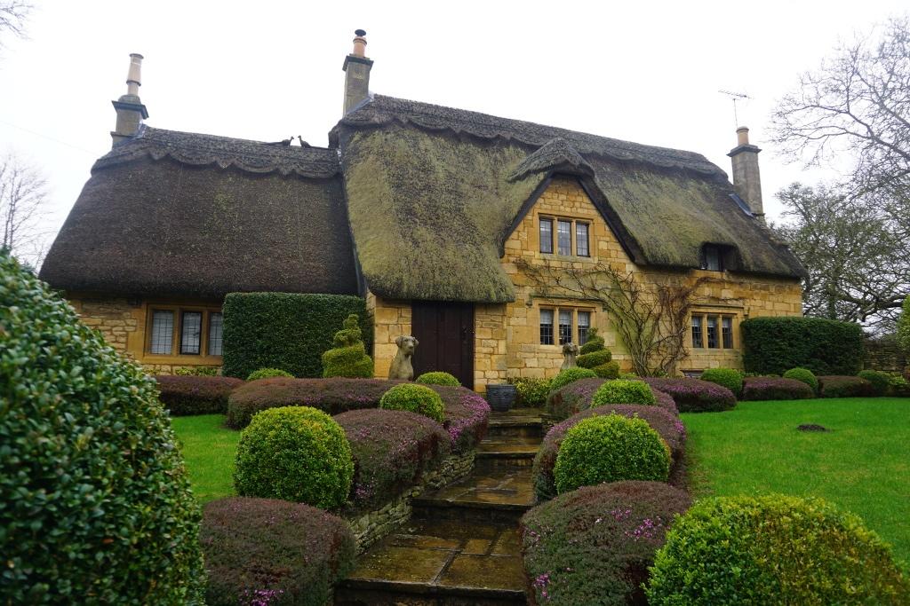 Casa típicas de los Costwolds en Sheep Street