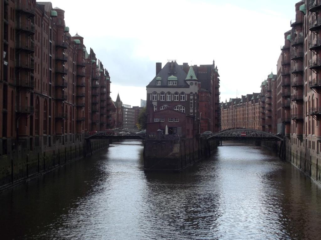Speicherstadt, la ciudad de los almacenes de Hamburgo, Alemania