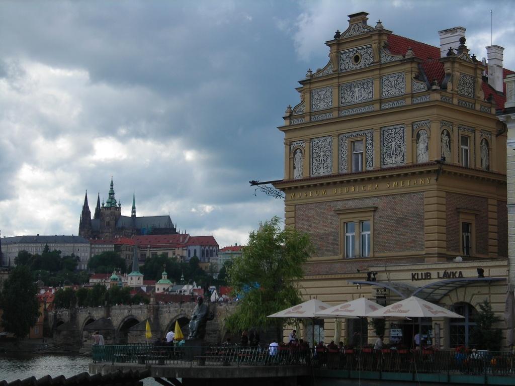 Puente de Carlos IV en Praga