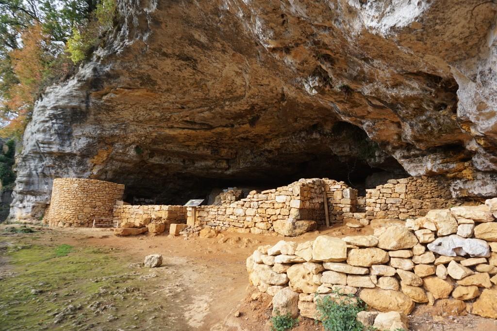 Abrigo de la Madeleine, Valle del Dordoña. Francia.