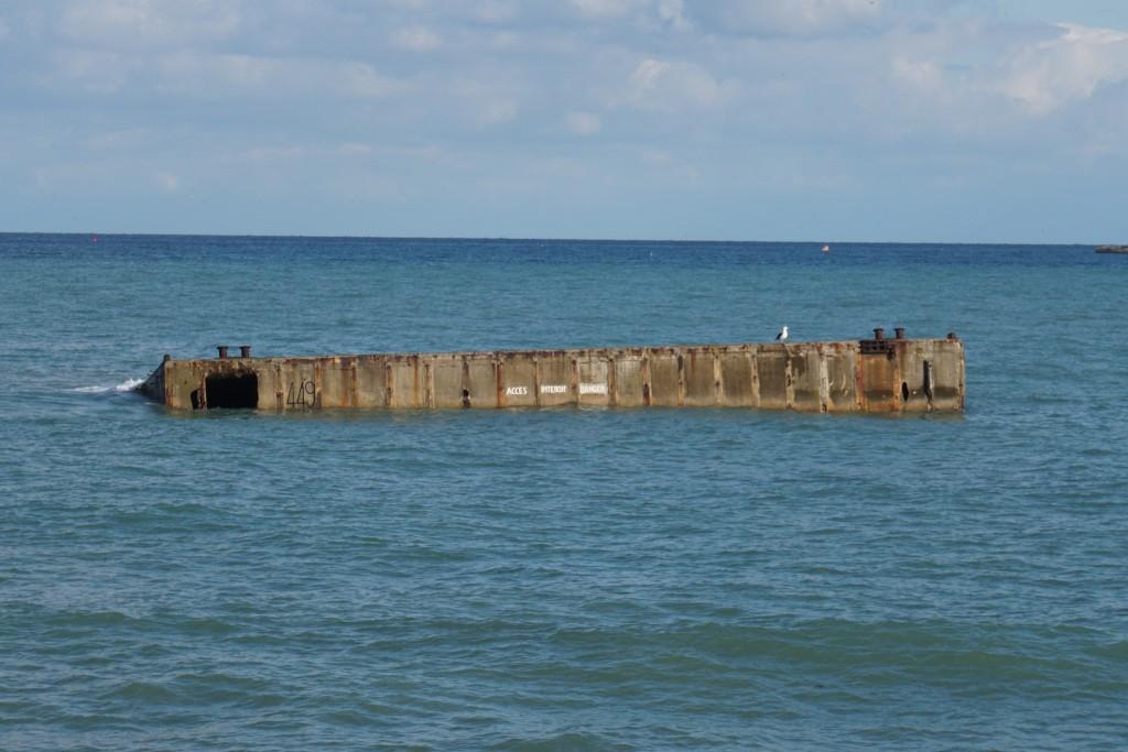 Puertos artificiales Arromanches, Desembarco de Normandía