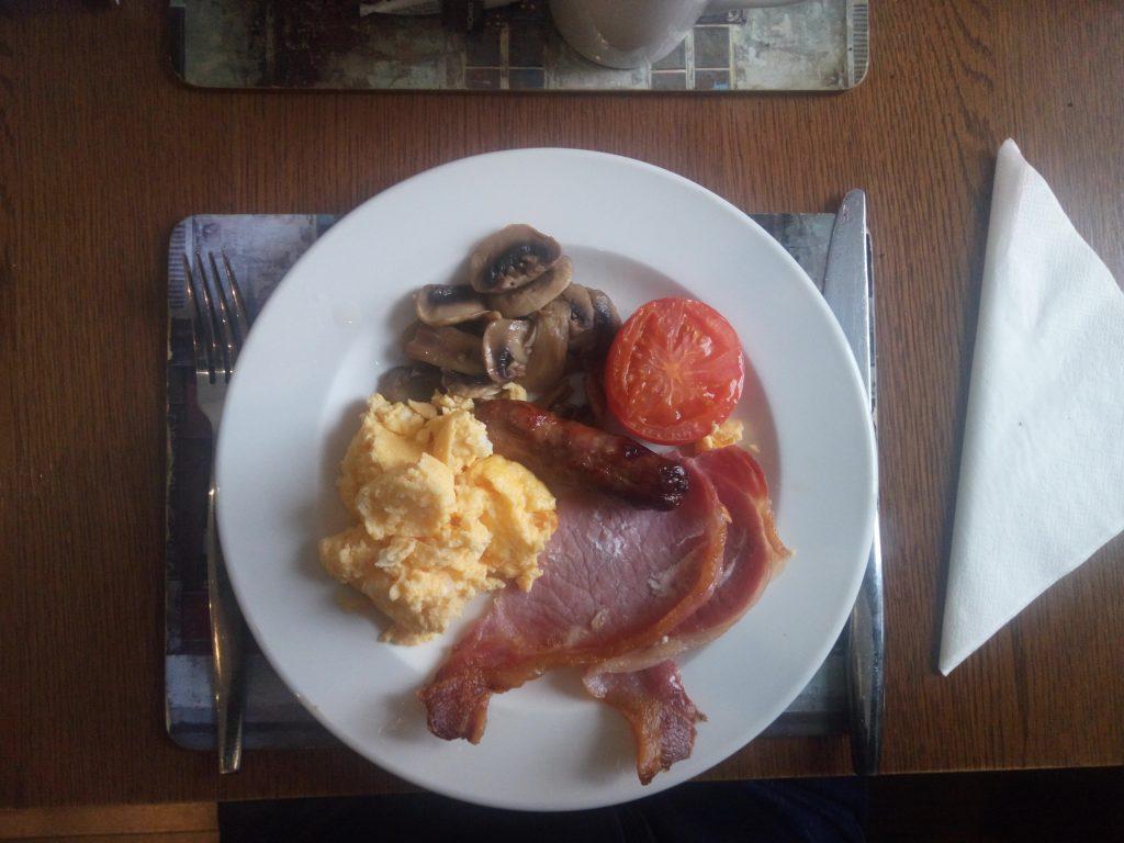 Escocia desayuno típico escocés