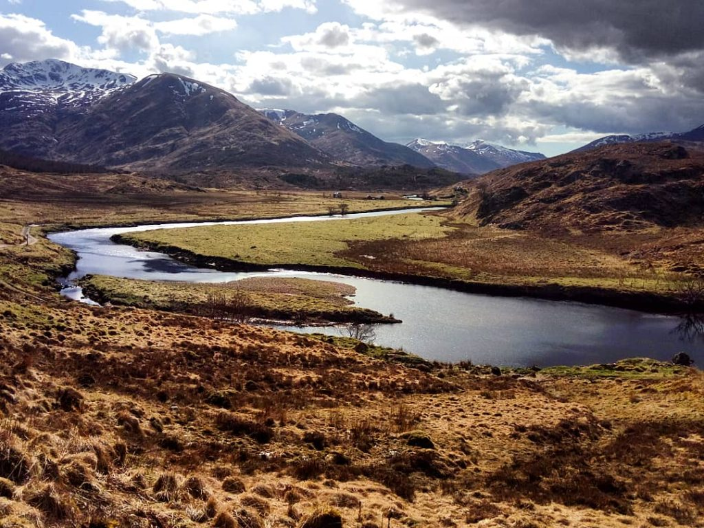 Escocia Glen Affric