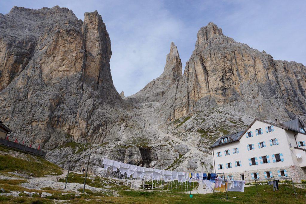 Refugio Vajolet en las Vajolet Towers