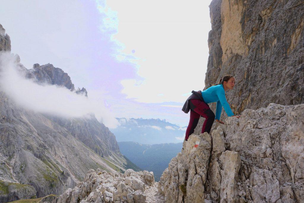 Trekking Vajolet Tower, Dolomitas