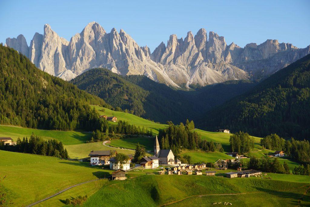 Val di Funes, Dolomitas