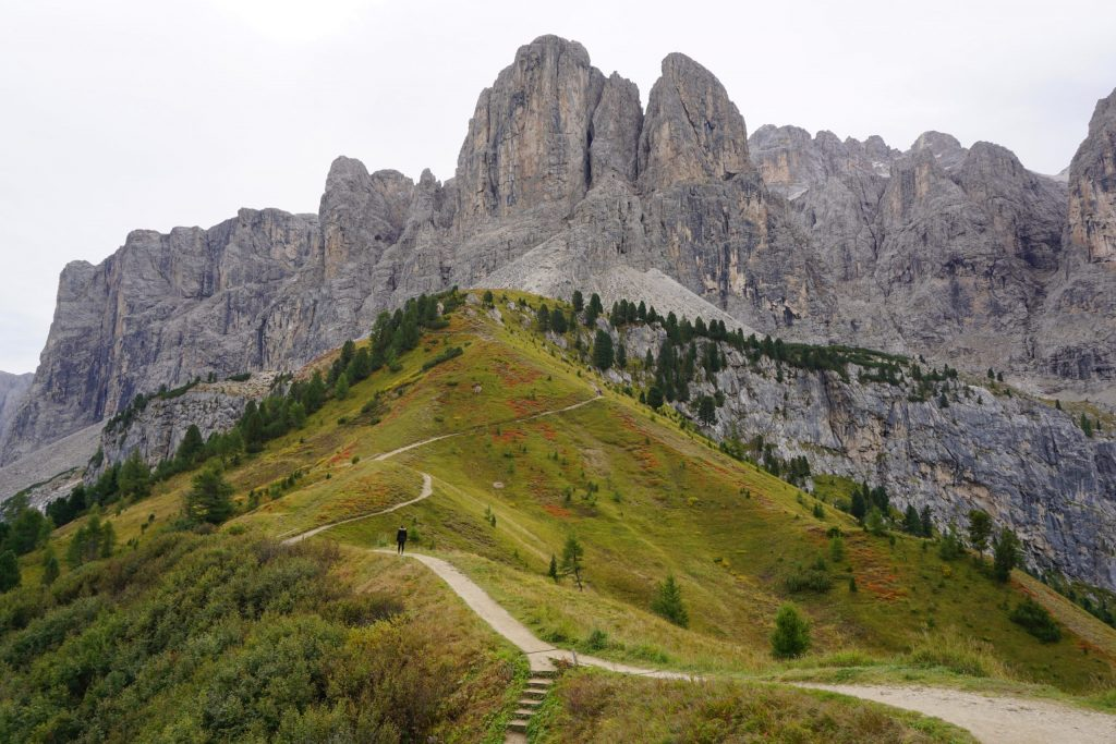 Passo Gardena, Dolomitas
