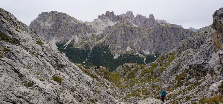 Trekking Rifugio Nouvolau, Dolomitas