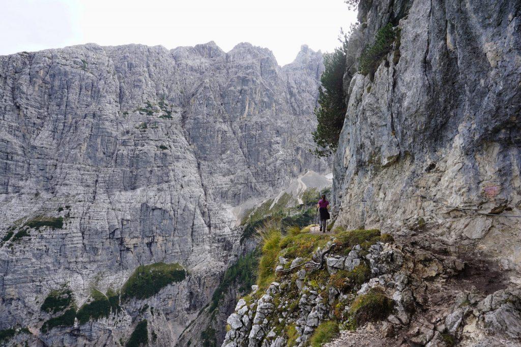 Trekking Lago Sorapis, Dolomitas