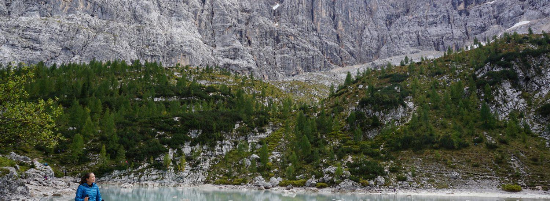 Trekking Lago di Sorapis, Dolomites