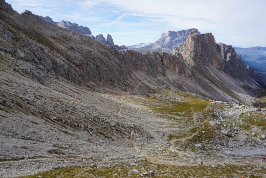 Trekking Altipiano Puez-Odle, Dolomitas